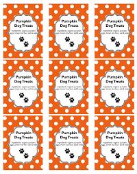 diy homemade holiday gift pumpkin dog treats recipe free