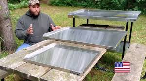Fish And Game Table Ultimate Fish And Game Cleaning Tools Youtube