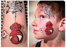 125 face paint spiderman images spiderman