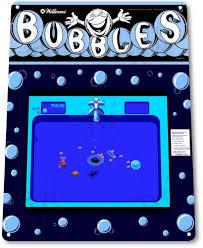 tin sign u201cbubbles arcade