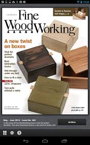Are There Any Woodworking Shows On Tv by Fine Woodworking Magazine Android Apps On Google Play