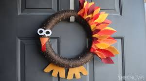Thanksgiving Cards To Make At Home 25 Diy Thanksgiving Wreaths Easy Thanksgiving Door Decorations