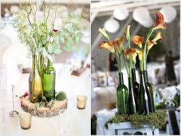 wine bottle wedding centerpieces 5 creative wine bottle centerpiece ideas for and weddings