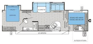 2015 white hawk 33bhbs floorplan i really like the bunks in this