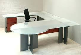 U Shaped Bar Table Office Desk Steel Office Desks Glass And Stainless Bar Table