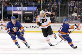 pimpandhost uploaded on february 13 2016 giroux scores 3 20 into ot to lift flyers past islanders boston herald