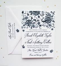 vintage wedding invitations with lace mospens studio