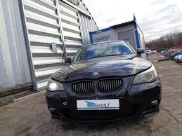 bmw e60 545 bmw 545 for parts bmw e60 545i 2003m sedanas 1 automatinė greič
