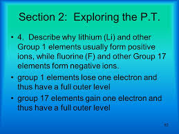 62 classifying the elements section review answers 100 images