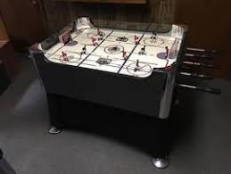 rod hockey table reviews ship a barely used halex rod hockey table model 63551 to bellmore