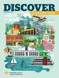 Seattle Neighborhood Map by South Lake Union
