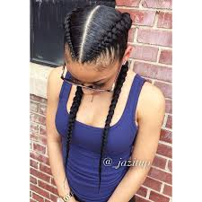 hairstyle with 2 shoulder braids 56 best feed in braids images on pinterest braids natural