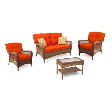 4 piece patio furniture sets martha stewart living charlottetown wicker patio furniture