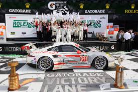 Chequered Flag Marina Del Rey Porsche North America Wins 2014 Rolex 24 Porsche Club Of America