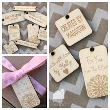 wooden party favors things are getting personal personalized wooden tags 62