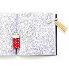 Livre Jardins Secret carnet de coloriage  chasse au trésor antistress