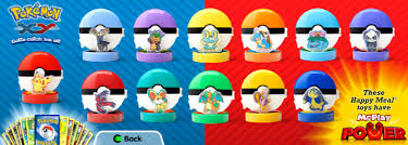 pokémon x and y toys and cards in the next mcdonald s happy meal