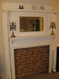 Fireplace Mantels Electric Fireplace Mantels Add Vintage Charm With Salvaged Surrounds