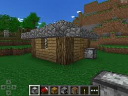 how to make a bed in minecraft how to build a simple 5x5 survival hut tutorial mcpe show