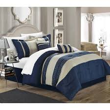 10 Pc Comforter Set Barrett 8 Piece Jacquard Comforter Set By Madison Park Hayneedle