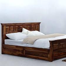 Platform Bed Frame Cal King Platform Bed Frame White U2013 Bare Look