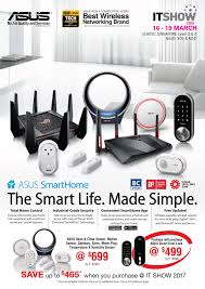 Smart Home Products 2017 Asus It Show 2017 Brochures Smart Home And Networking Products