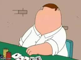 Poker Face Memes - peter griffin poker face memes imgflip