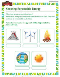 knowing renewable energy u2013 3rd grade printable science worksheet