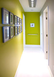 squeezing style into a narrow hallway hallways gallery wall and