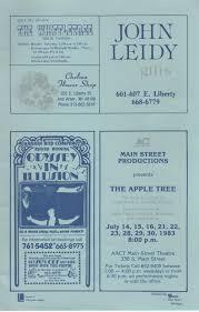 Madeline Leidy by Ann Arbor Civic Theatre Program A Midsummer Night U0027s Dream June