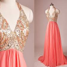 coral and gold bridesmaid dresses best coral beaded dress products on wanelo