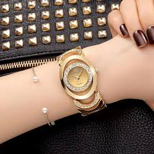 luxury gold bracelet watches images Crrju luxury women watch famous brands gold fashion design jpg