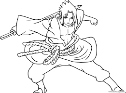 anime sasuke of naruto shippudencb91 coloring pages printable