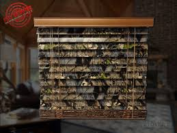 2 wood camo blinds mossy oak up outdoors themed