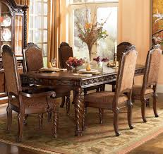 Ashley Furniture Dining Room Sets Discontinued by North Shore Rectangular Extension Leg Dining Table By Ashley