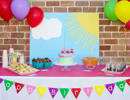 peppa pig party peppa pig birthday s peppa the pig party the hot air
