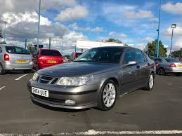 used saab 9 5 vector sport grey cars for sale motors co uk