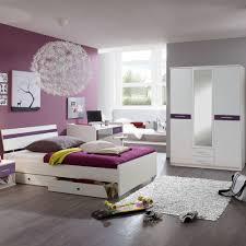 Ostermann Schlafzimmer Bett Jugendliege Bett Vico 90x200cm Jugendliege Weiß Brombeere