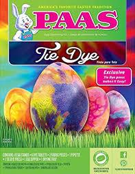 paas easter egg dye paas 39418 tie dye egg decorating kit kitchen dining