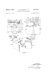 patent us2737158 automatic back gauge spacer google patents