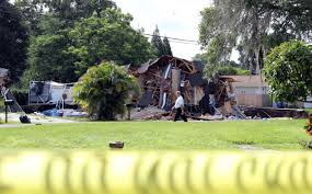 Map Of Sinkholes In Florida by 2 Homes 1 Boat Swallowed By Growing Sinkhole In Florida Wbns