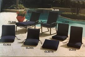 Pvc Patio Furniture Cushions - patio cushions replacement cushions slings replacement slings