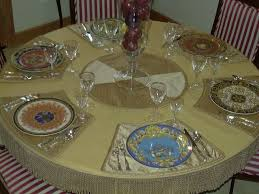 Placemats For Round Table Substance Of Living Placemats For A Round Table