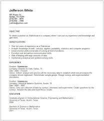 Technical Resumes Examples by Example Of A Resume