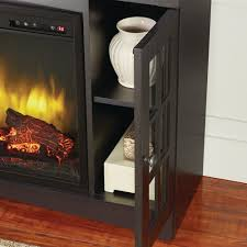 avondale grove 48 in media console infrared electric fireplace in