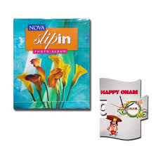 5 X 7 Photo Albums Onam Gift Combo Nova Slipin Photo Album 5