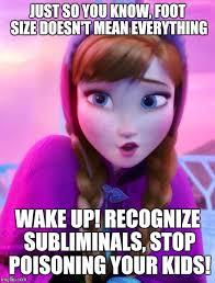 Anna Meme - frozen anna deep snow memes imgflip