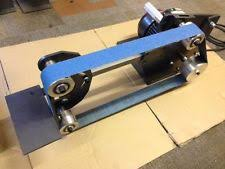 Diy Bench Sander Belt Linisher Ebay