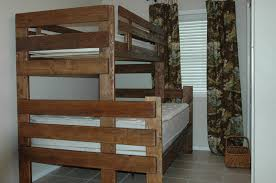 Twin Bunk Bed Designs by Perfect Full Bunk Bed Plans And Best 25 King Size Bunk Bed Ideas