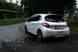 peugeot america european review peugeot 208 gti the truth about cars